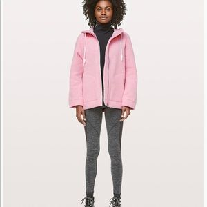 So Sherpa Lululemon Hooded Jacket